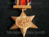 FULL SIZE WW2 BURMA STAR WITH PACIFIC CLASP REPLACEMENT COPY